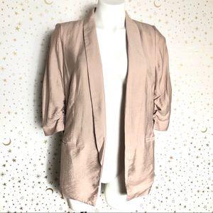 ⬇️$25 LC Lauren Conrad Blazer w/ Rushed Sleeves
